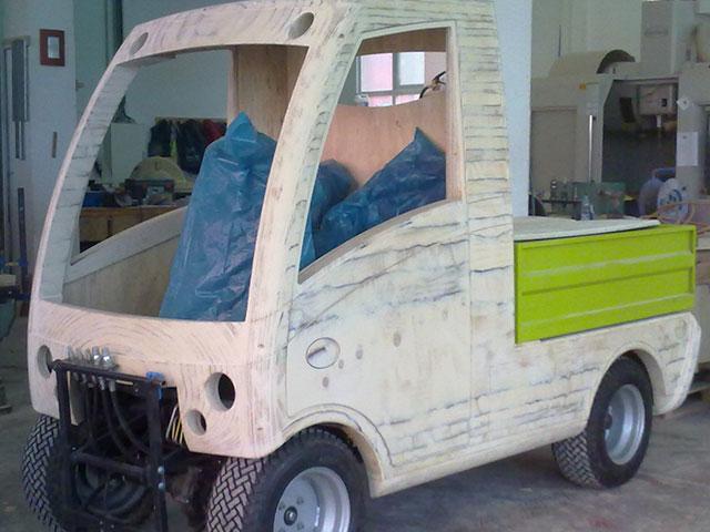 Modelo para prototipo coche eléctrico